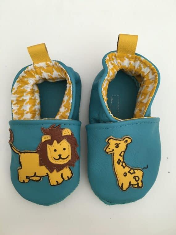 lion et girafe