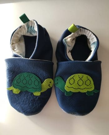 Chausson tortue
