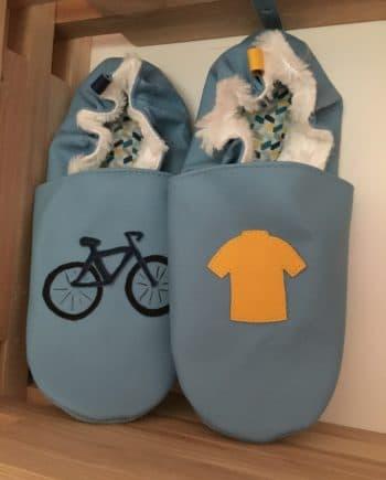 Chausson vélo et maillot